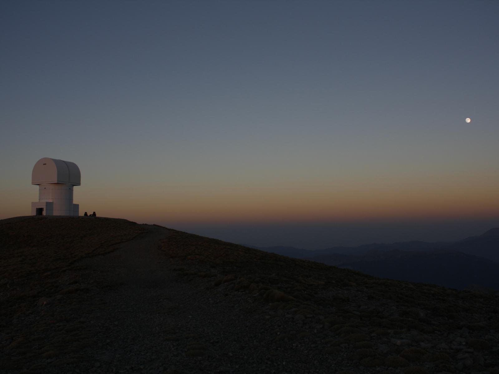 Helmos Observatory Panorama